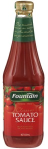 'Rich red Fountain Tomato sauce""